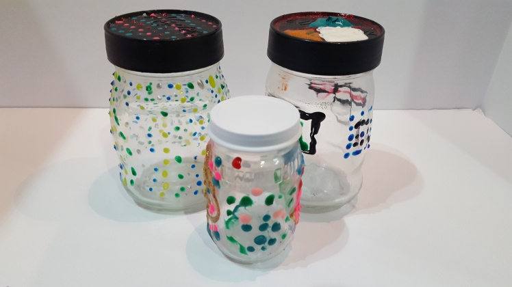 puffy paint jars (10)